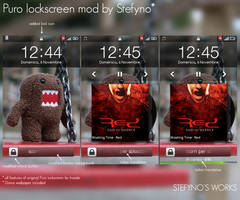 Puro lockscreen mod by Stefyno