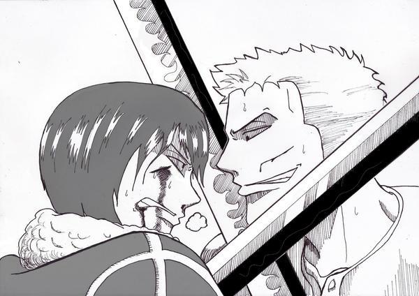 zoro and tashigi meet again soon