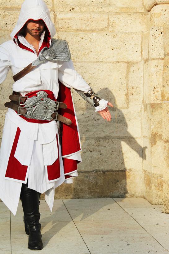 AC Brotherhood- Ezio Cosplay 9 by LadyBad