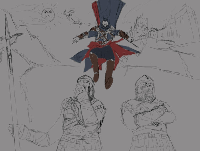 Assassination WIP by LadyBad