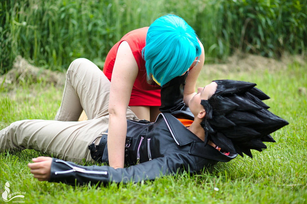 Vegeta and Bulma (Cosplay) by LadyBad