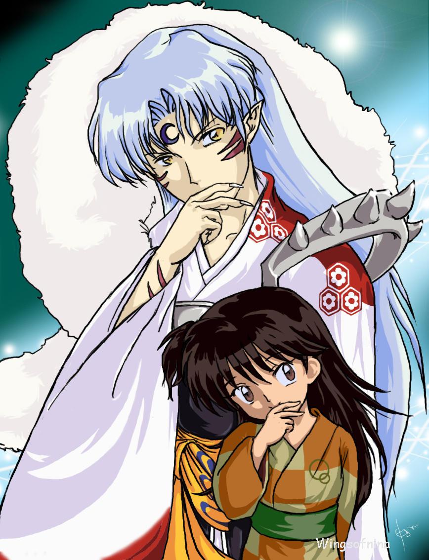 http://fc04.deviantart.com/fs12/i/2006/269/6/0/Rin_and_Sesshoumaru_by_Wingsofnina.jpg