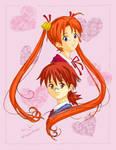 Asuna and Negi