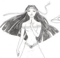 Egyptian Priestess - prayer by hamimo
