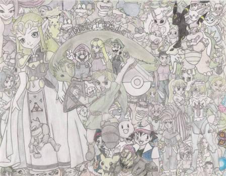 Nintendo Collage