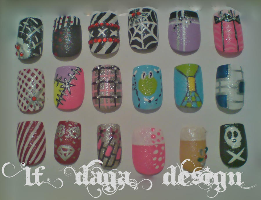 nail samples by lafince on DeviantArt