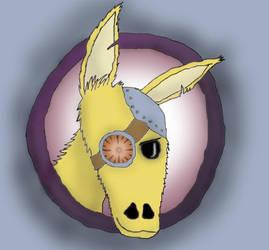Cyber llama by grafomanka193
