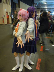 Natsuki et Yuri de Doki Doki Literature Club