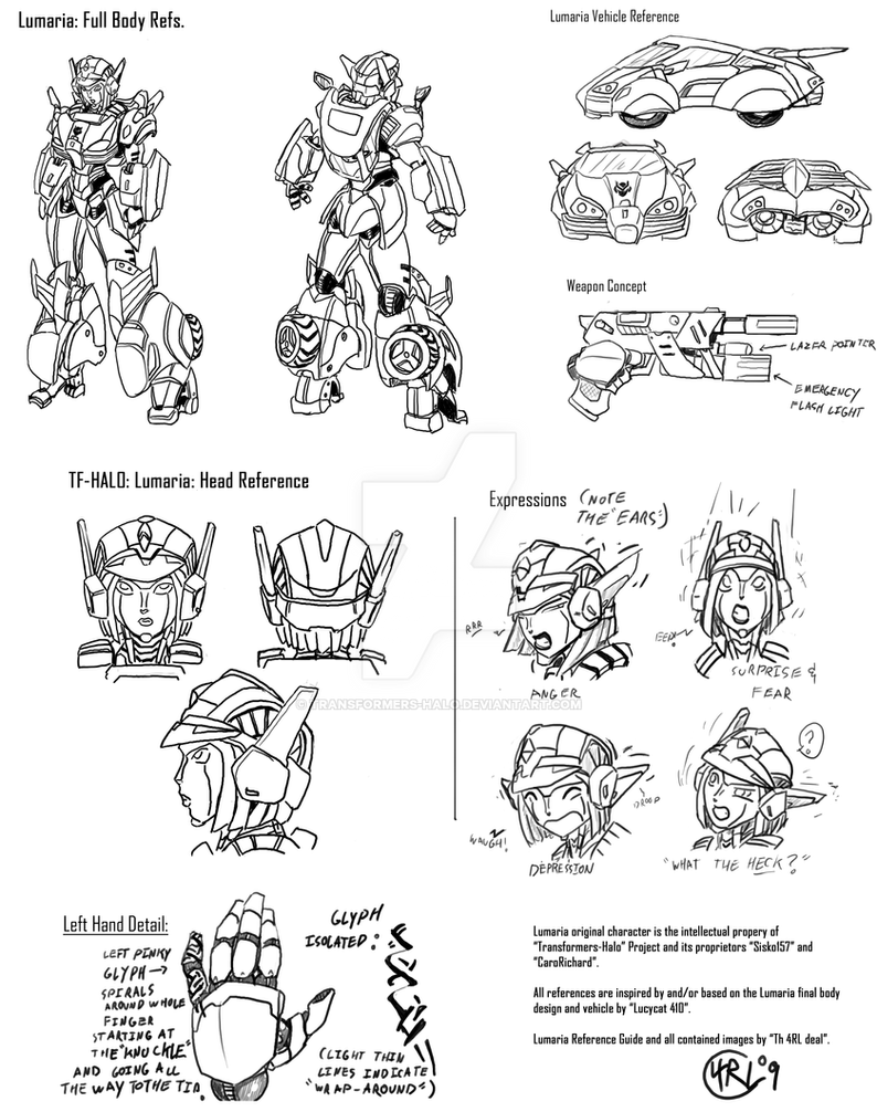 lumaria reference sheet by transformers