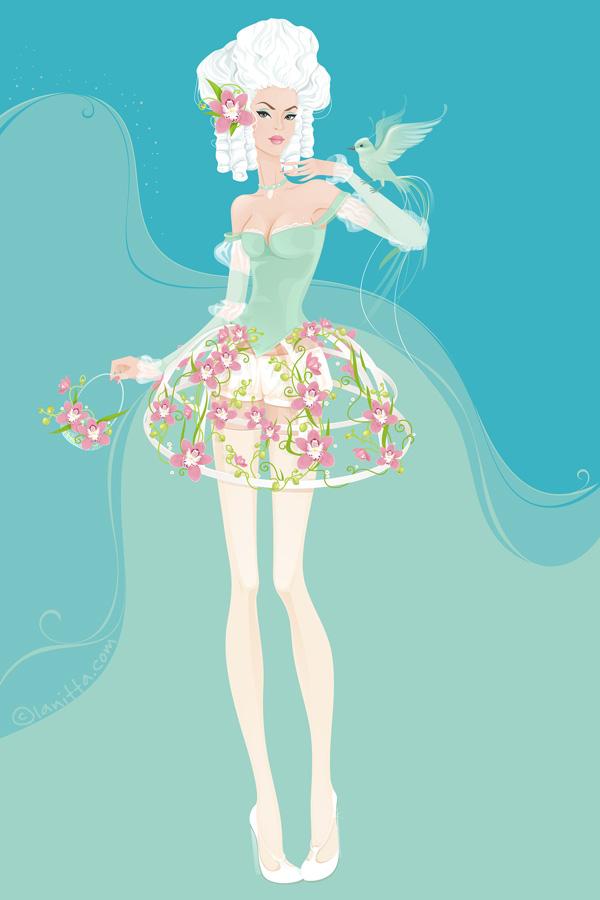 Flower Girl by lanitta