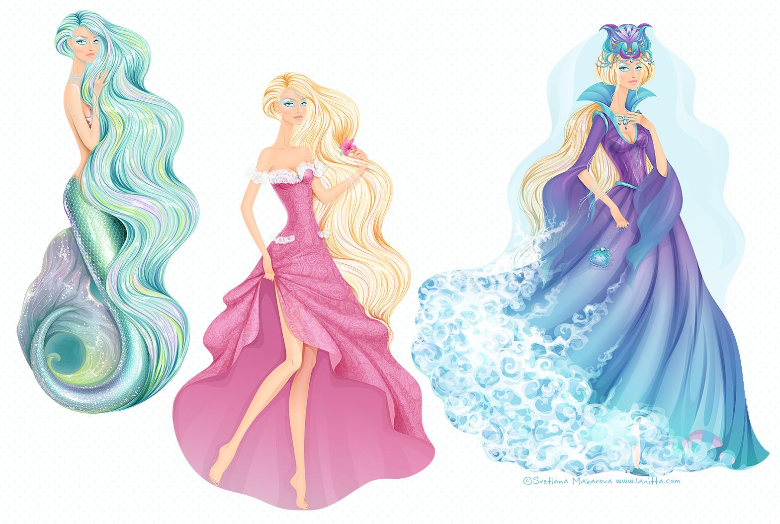 Mermaid by lanitta