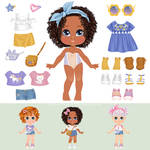 Paper Doll by lanitta