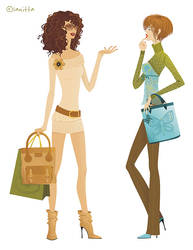 Shopping Time by lanitta