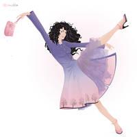 Pink Violet by lanitta