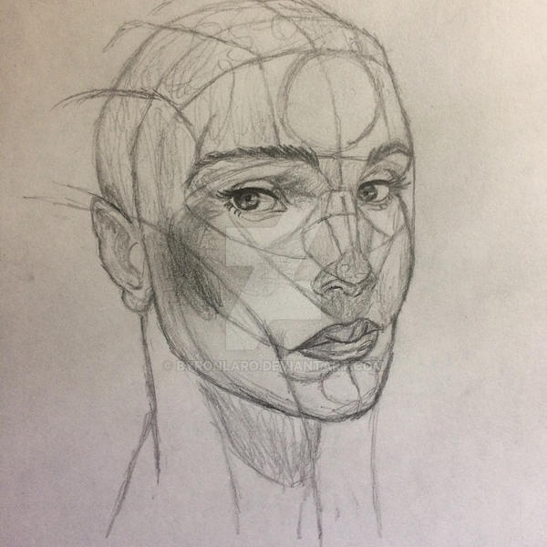 Human anatomy practice 5 by ByronLaro