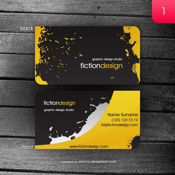 1. fictiondesign