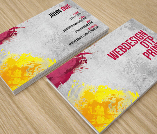 Abstract Modern Business Card