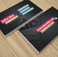 Simple Creative Business Card by env1ro
