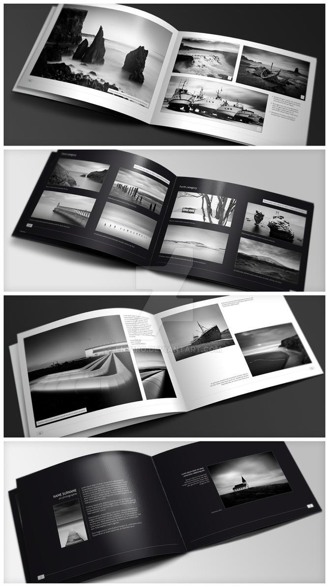 Minimalfolio Photography Portfolio A4 Brochure by env1ro