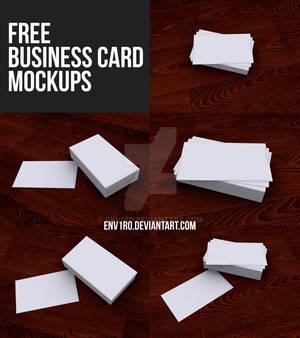 Free Business Card Mockups