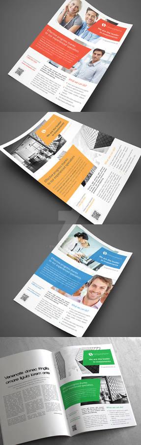 Multipurpose Corporate Flyers, Magazine Ads vol 4