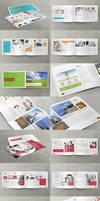 3x Business / Corporate Multi-purpose A4 Brochures