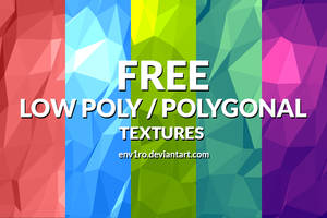 Free Polygonal / Low Poly Background Textures