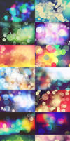 16 Abstract Bokeh Background Textures