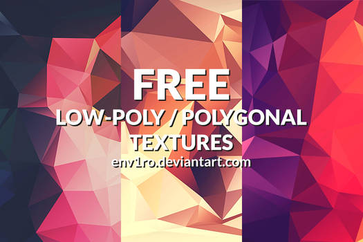 Free Polygonal / Low Poly Background Textures #2