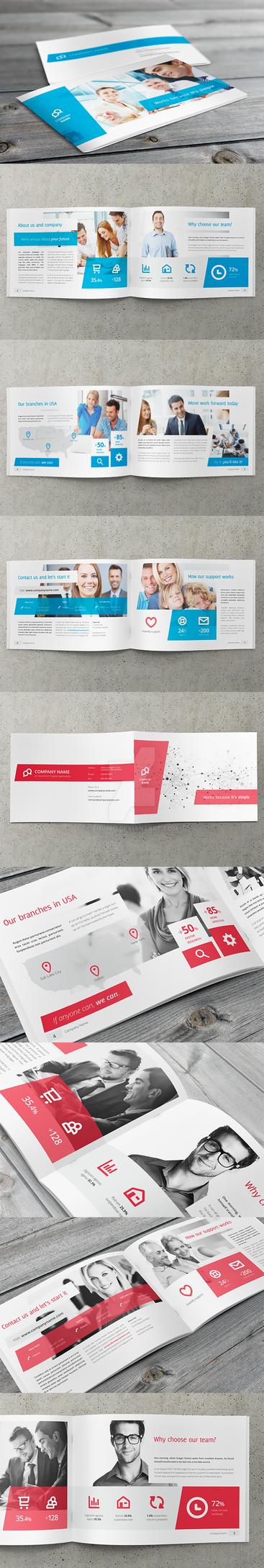 Business, Corporate Multi-purpose A4 Brochure 4 by env1ro
