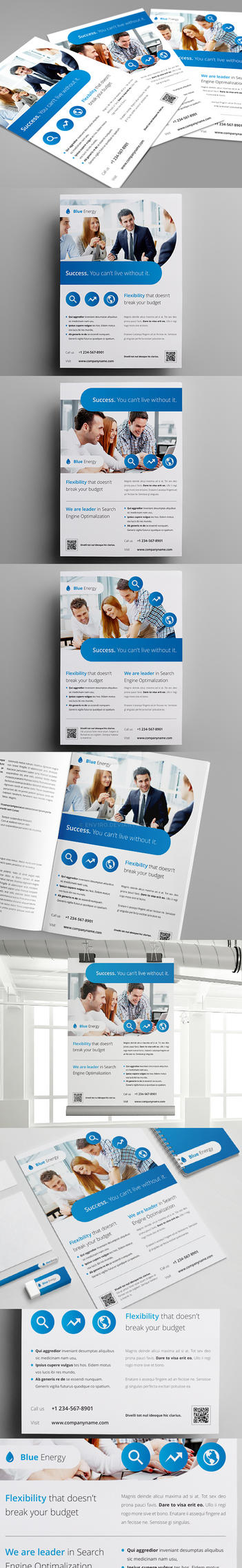 Business / Corporate Flyers vol. 9 by env1ro