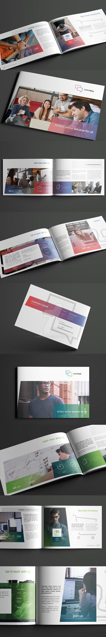 Business, Corporate Multi-purpose A4 Brochure 5 by env1ro