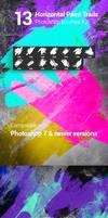 13 Watercolor Paint Splatters Photoshop Brushes #2