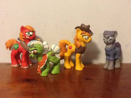 Relatives of the Mane Six