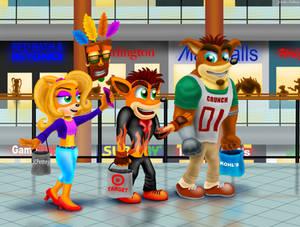 Bandicoots at the Mall