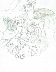 Let's Draw Twilight's Ascension Part 1