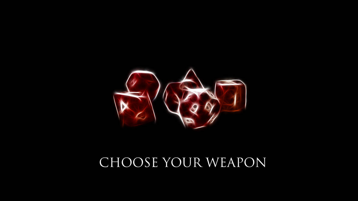 Choose Your Weapon 1920x1080 HD Wallpaper by TheRierie