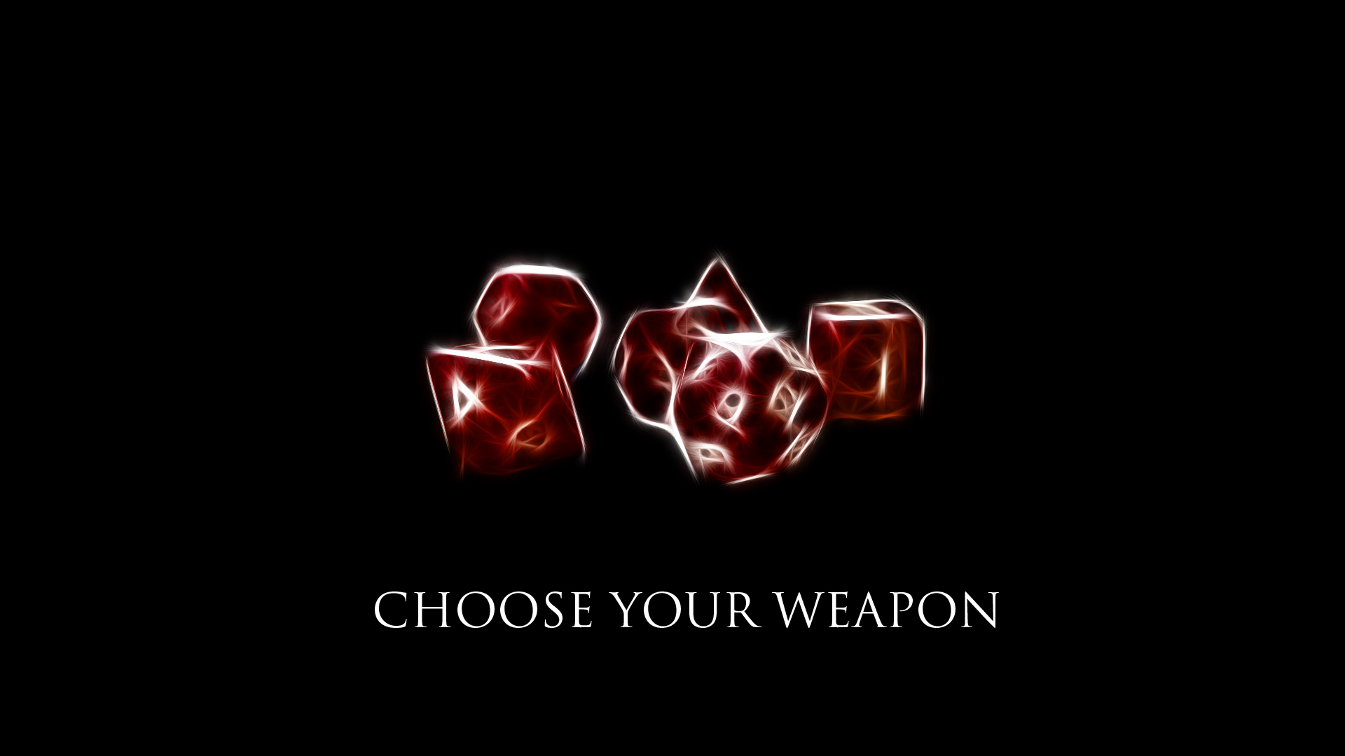 Choose Your Weapon 1920x1080 HD Wallpaper By TheRierie On