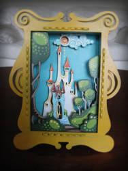 3d Painting: Castle Scene by IMVU-Whystler
