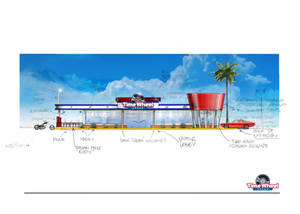 Commercial facade design
