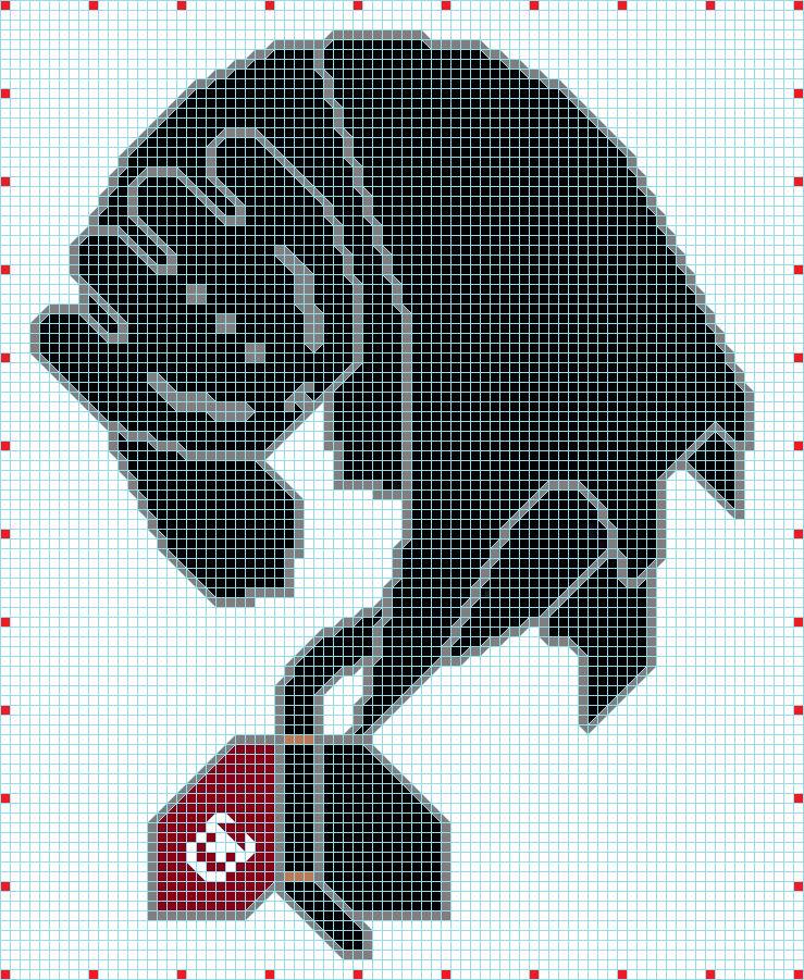 Pixel Art Krokmou By Slachman12345 On Deviantart
