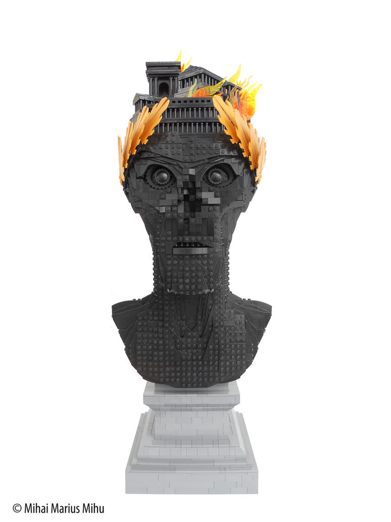 Civitatem et Flammas (Emperor Nero) by MihaiMariusMihu