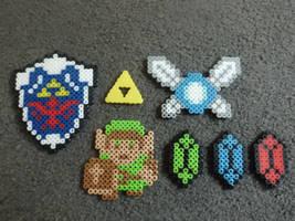 Zelda Perler Bead Set by AshersAbsolution