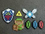 Zelda Perler Bead Set