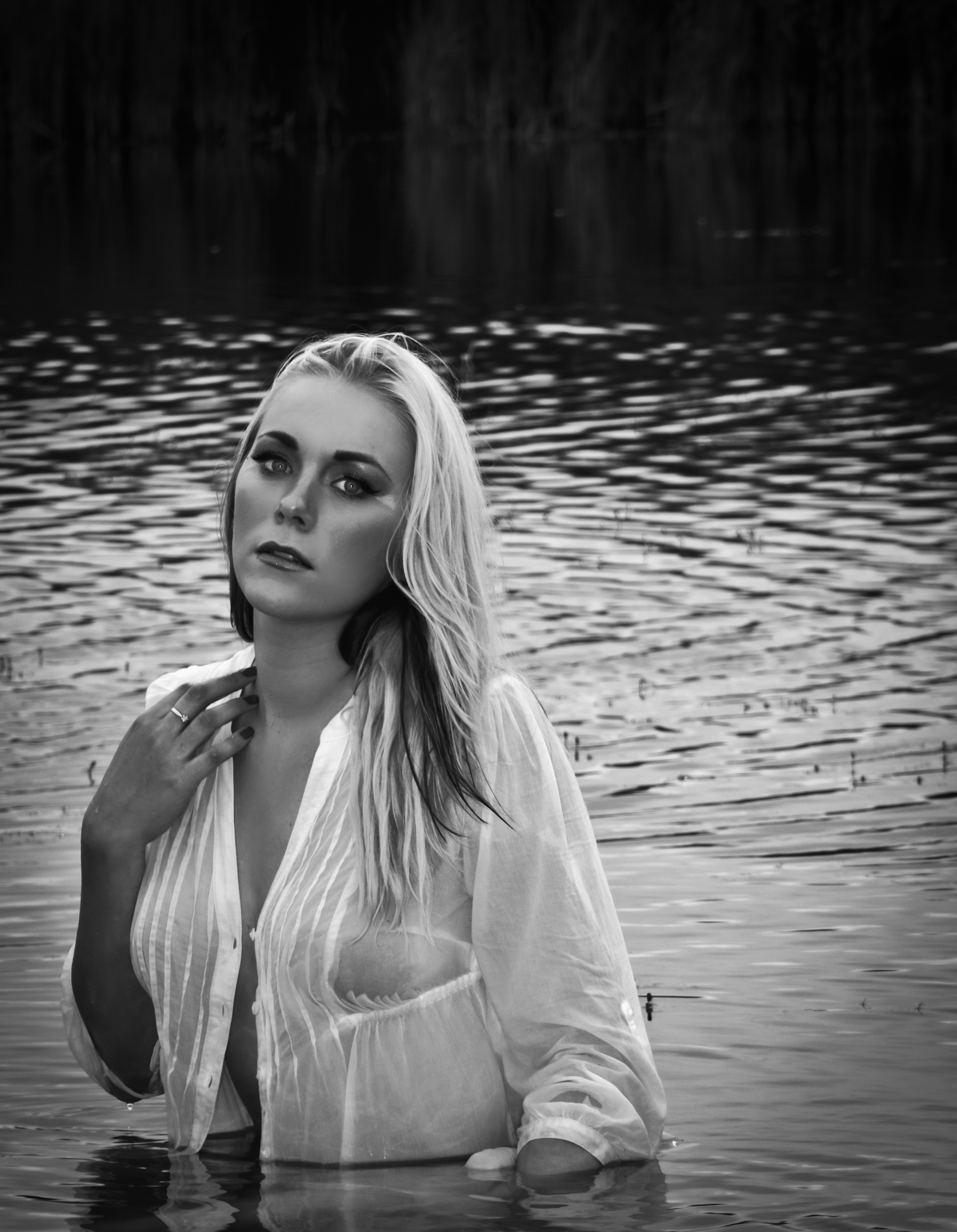 Lady in the water by Trinski