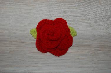 Red rose by Redostrike
