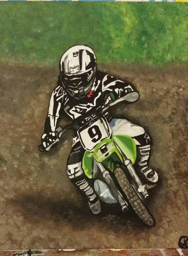 dirt bike by warriorsfan48