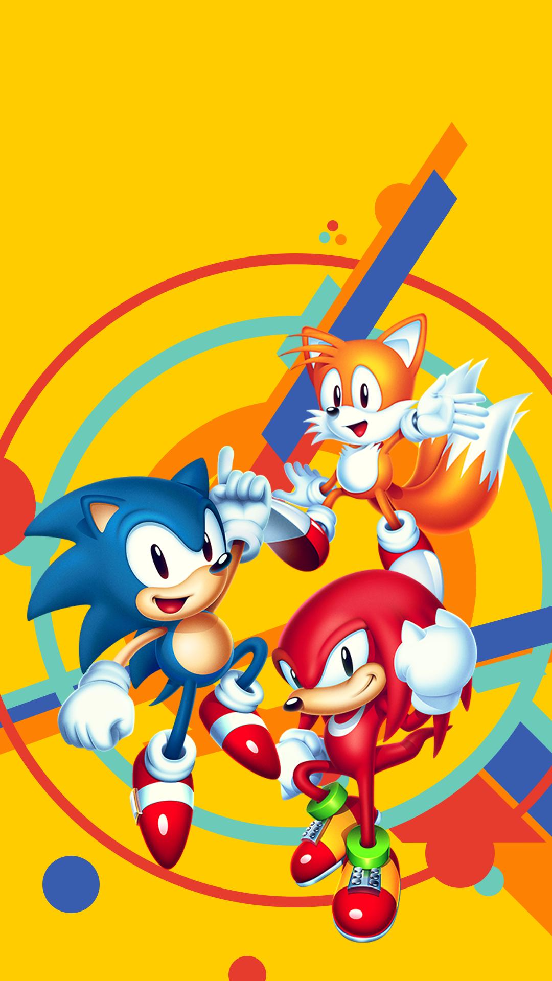 Sonic Mania Smartphone Wallpaper By Arkthus On Deviantart