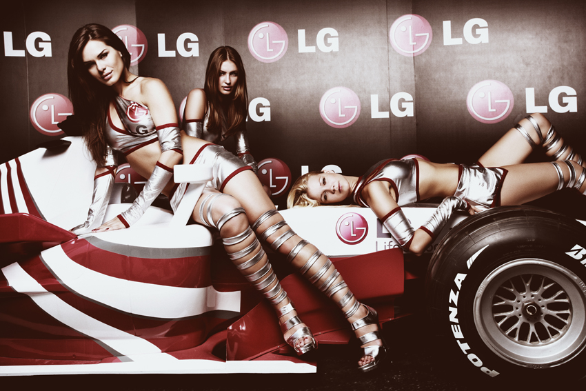 LG Girls Formula1 Istanbul09 I
