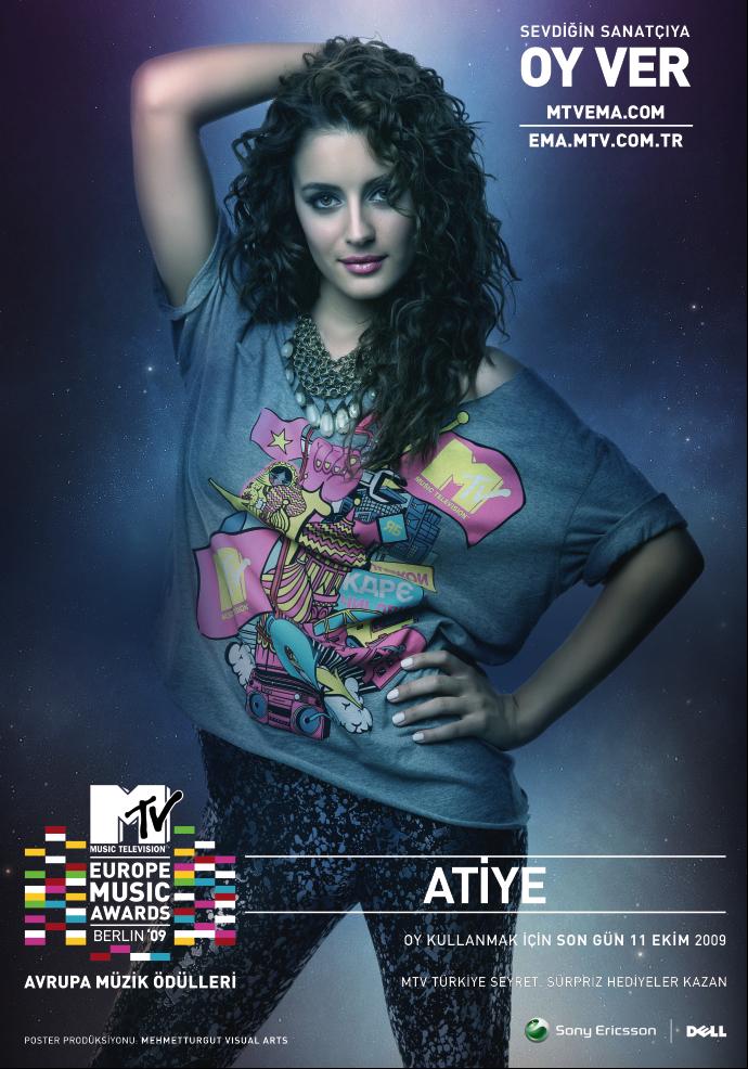 MTV ema 09 Turkey Atiye II by mehmeturgut